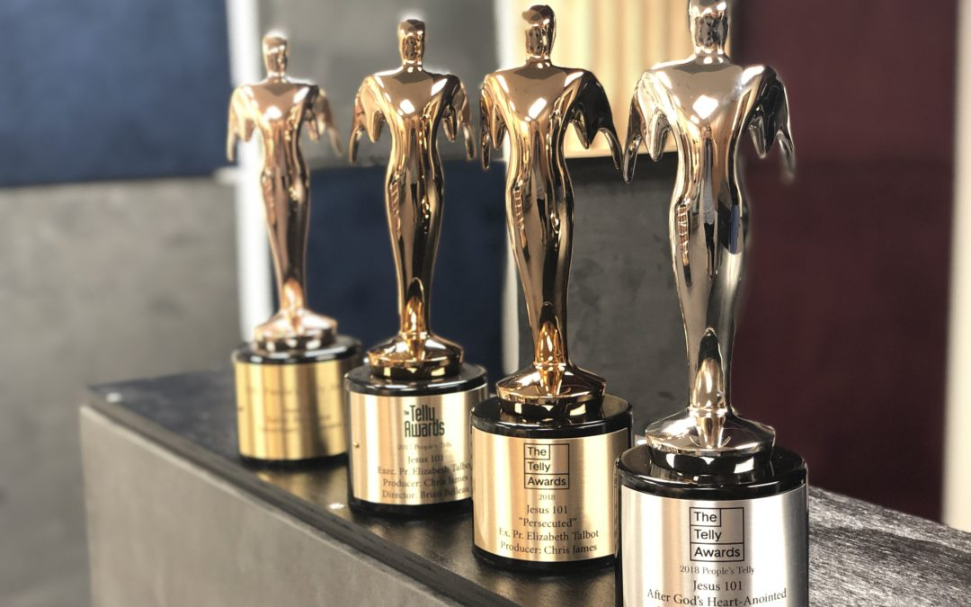Jesus 101 Wins Two Telly Awards!