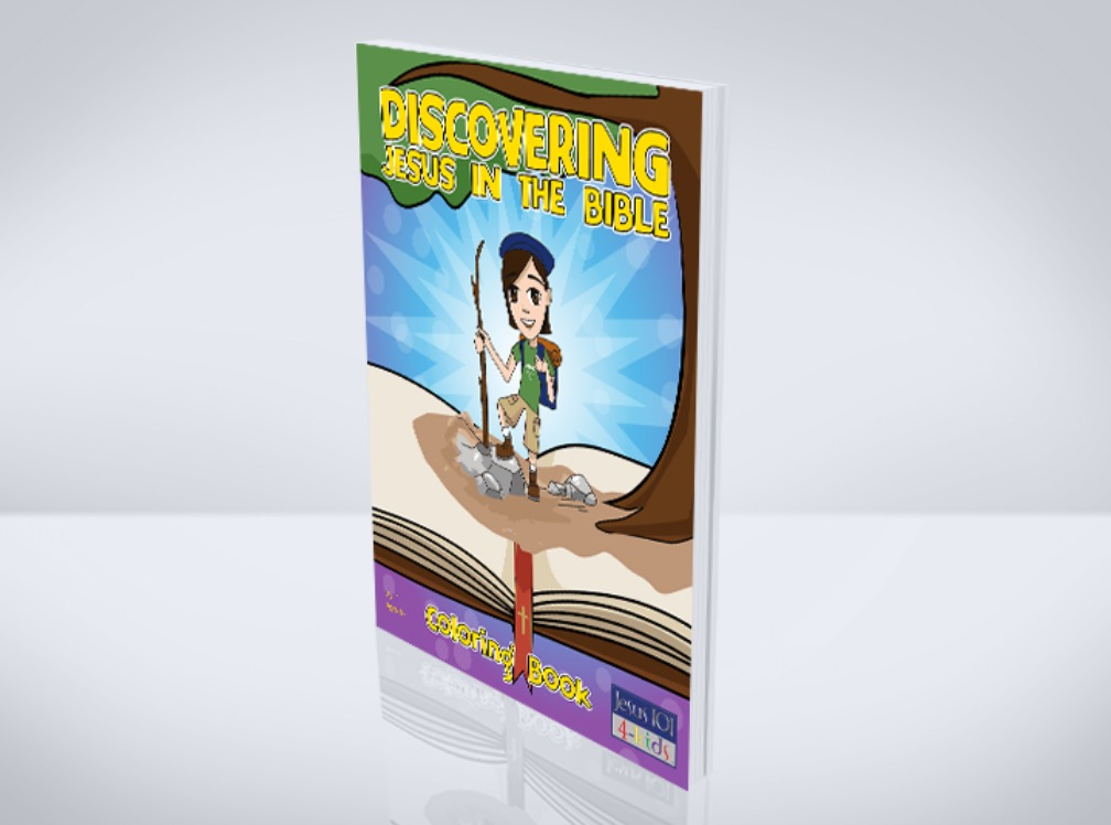 Discovering Jesus in the Bible Coloring Book