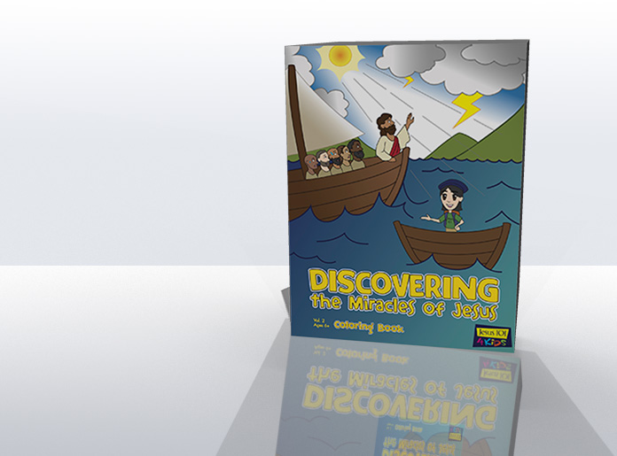 Discovering the Miracles of Jesus Coloring Book