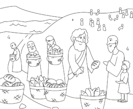 Jesus Multiplies the Bread and Fish
